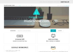 musicsnow.com
