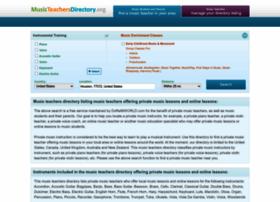 musicteachersdirectory.org