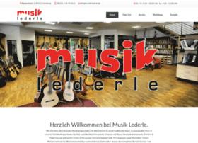 musik-lederle.de