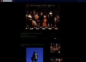 musikalischeopfer.blogspot.com.br