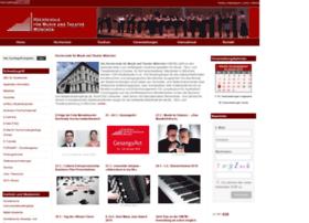 musikhochschule-muenchen.de