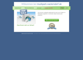 musikpark-wackersdorf.de