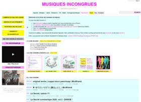 musiques-incongrues.net