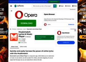 musixmatch-lyrics-player.en.softonic.com