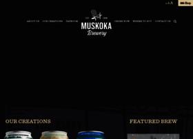 muskokabrewery.com
