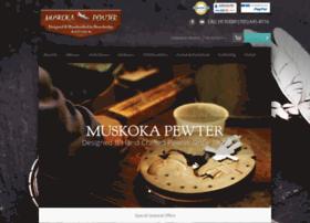 muskokapewter.com