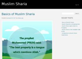 muslim-sharia.org