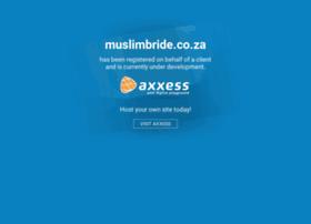 muslimbride.co.za