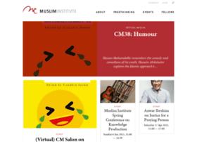 musliminstitute.org