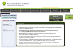 muslimsvoiceofamerica.com