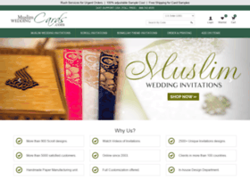Muslimweddingcards.com