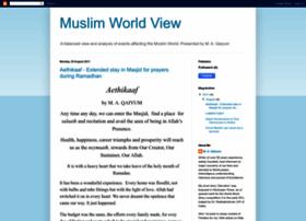 muslimworldview.blogspot.com