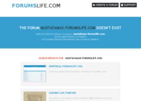mustafamax.forumslife.com