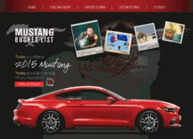 mustangbucketlist.com