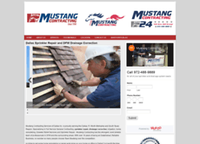 mustangcontracting.com
