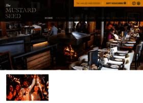 mustardseedrestaurant.co.uk
