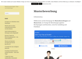 mustertexte-musterbewerbung.de