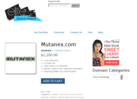 mutanex.com