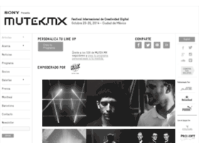 muteklineup2014.hazdf.com
