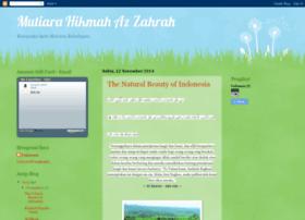 mutiarahikmahazzahrah.blogspot.com