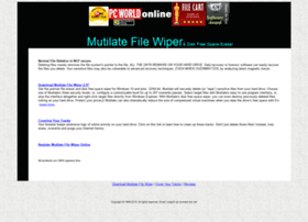 mutilatefilewiper.com
