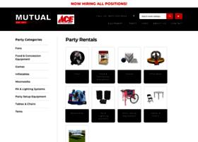 mutualspartyrentals.com