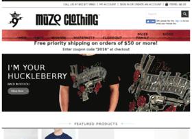 muzeclothing.com