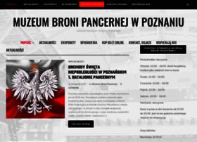 muzeumbronipancernej.pl