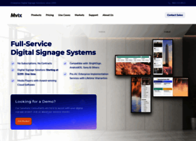 mvixdigitalsignage.com