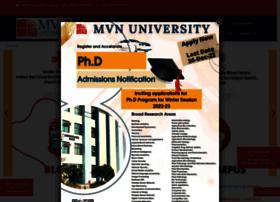 mvn.edu.in
