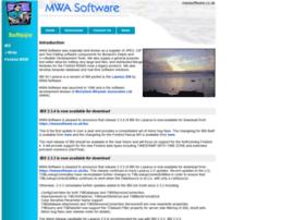 mwasoftware.co.uk