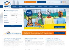 mwg-wohnen.de