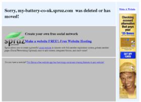 my-battery-co-uk.spruz.com