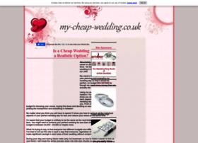 my-cheap-wedding.co.uk