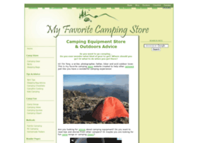 my-favorite-camping-store.com