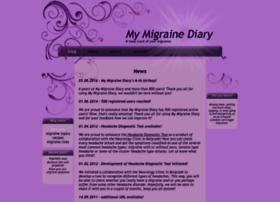 my-migraine-diary.com