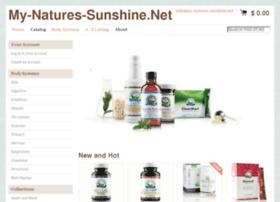 my-natures-sunshine.net