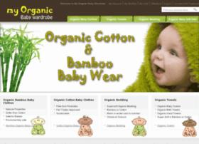 my-organic-baby-wardrobe.com