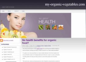 my-organic-vegetables.com