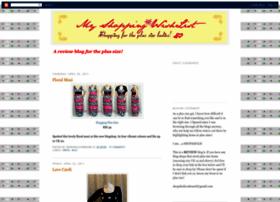 my-shopping-wishlist.blogspot.com