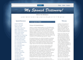 my-spanish-dictionary.com