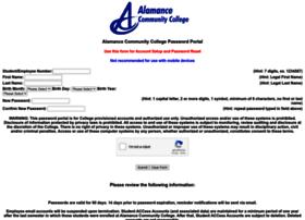 my.alamancecc.edu