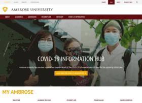 my.ambrose.edu