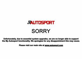 my.autosport.com