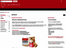 my.caldwell.edu