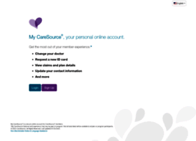 my.caresource.com
