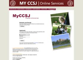 my.ccsj.edu