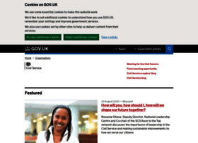my.civilservice.gov.uk