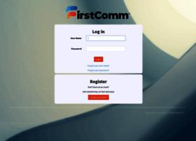 my.firstcomm.com