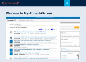 my.forumias.com